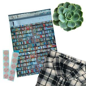 50 Pack 10x13 Books Poly Mailers